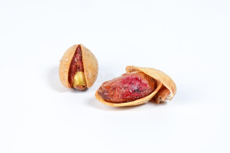 Pistachio nuts shell royalty free stock photography