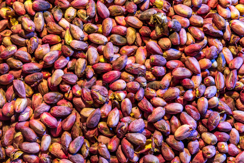 Pistachios in Iran royalty free stock photos