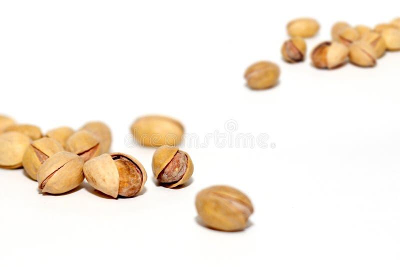 Pistachios nuts royalty free stock photos