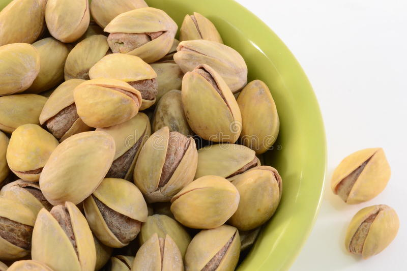 Pistachios Roasted fotografia de stock royalty free