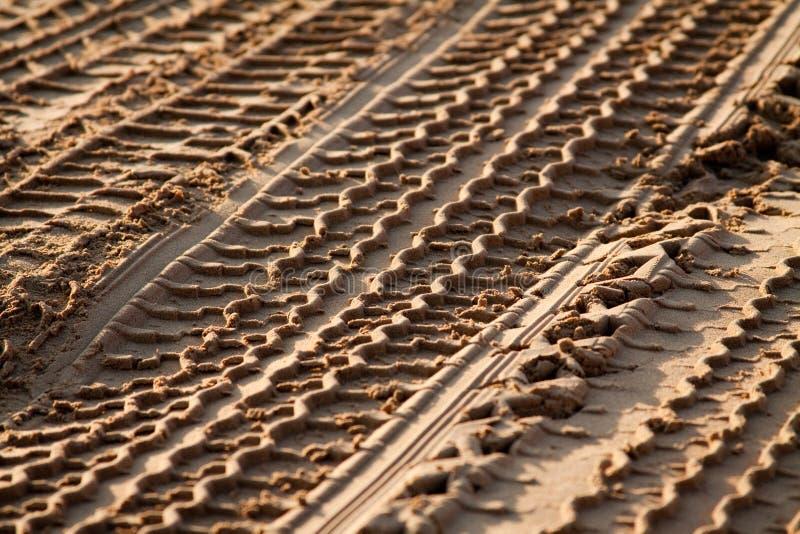 Pistas del desierto fotografía de archivo