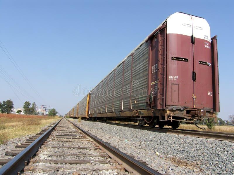 Pistas del tren imágenes de archivo libres de regalías