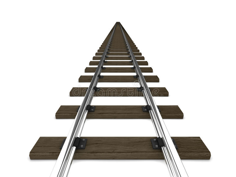 pistas ferroviarias 3d libre illustration
