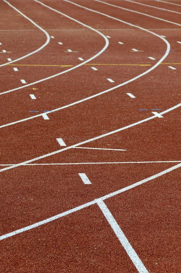 Piste correnti di atletismo fotografia stock libera da diritti