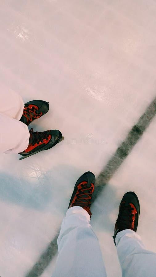 piste de patinage de glace photos libres de droits