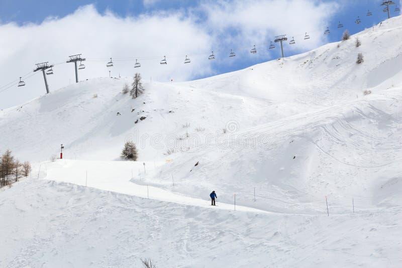 Piste de ski de Frances photos stock