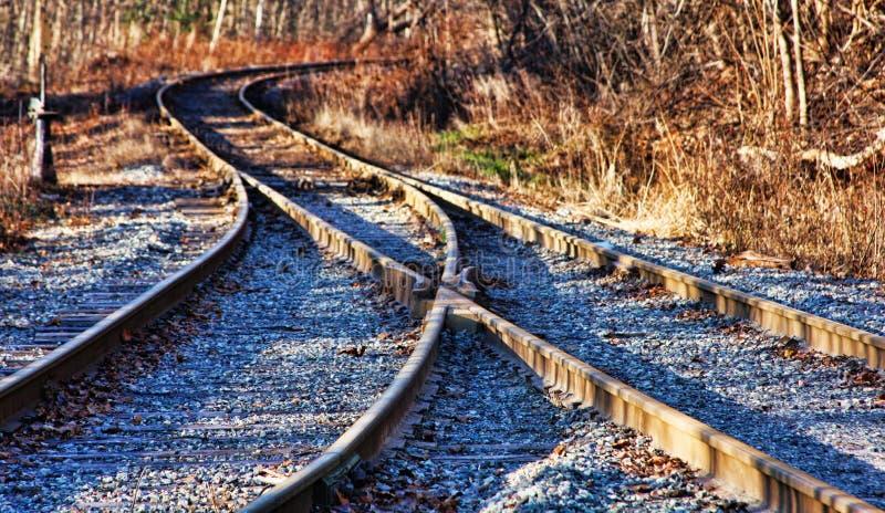 Piste del treno immagine stock
