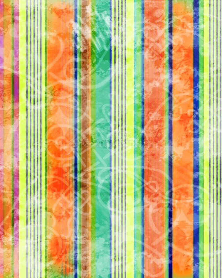 Piste grunge colorée illustration de vecteur