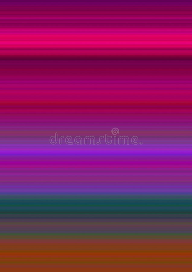 Pistes abstraites de couleur illustration stock