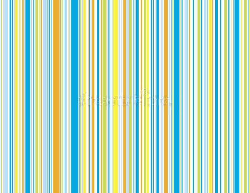 Pistes bleues de plage illustration stock