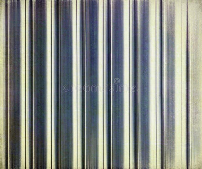 Pistes bleues sur le papier images stock