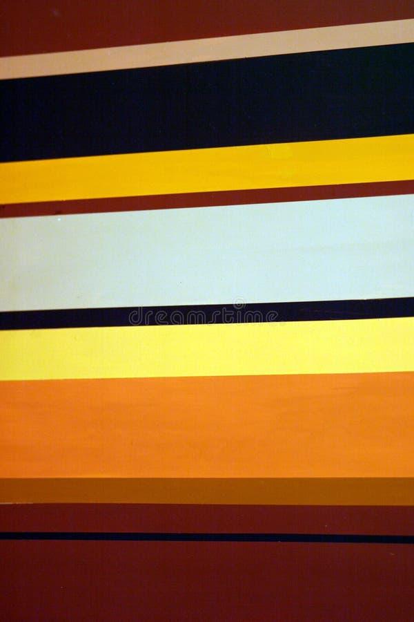 Pistes colorées image libre de droits
