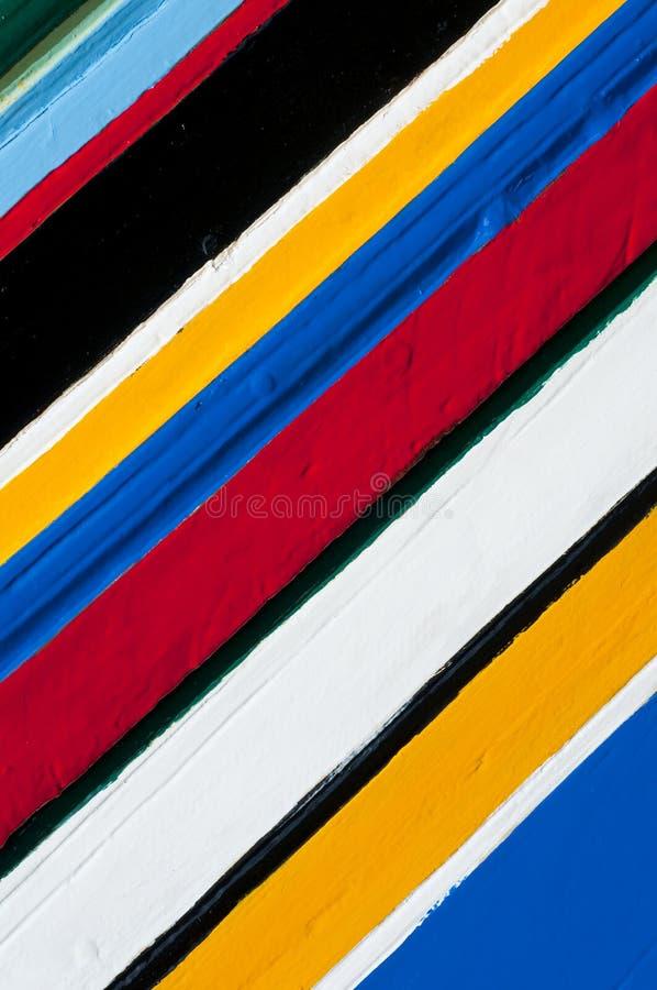 Pistes colorées de couleurs photos stock