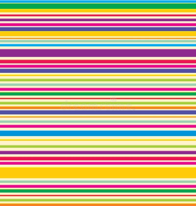 Pistes colorées par vecteur illustration de vecteur