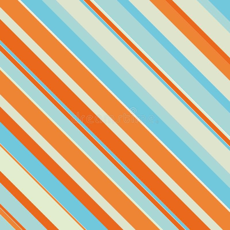 Pistes de couleur illustration de vecteur