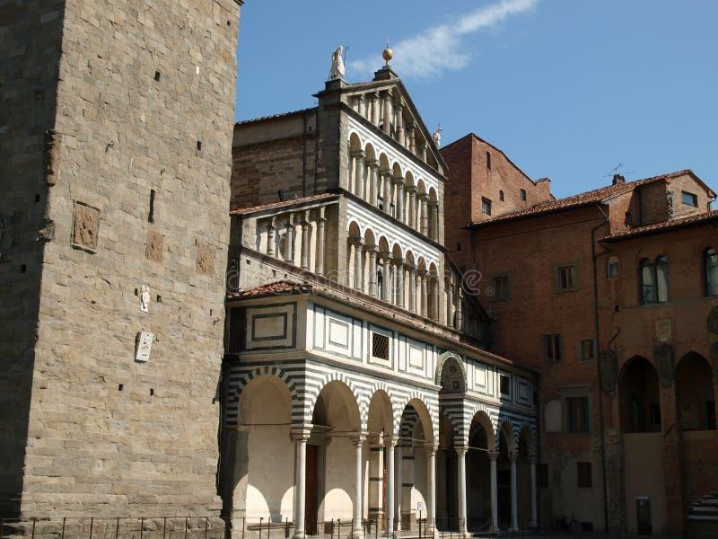 Pistoia - Duomo. Cathedral St Zeno's - Pistoia, Tuscany Italy royalty free stock image