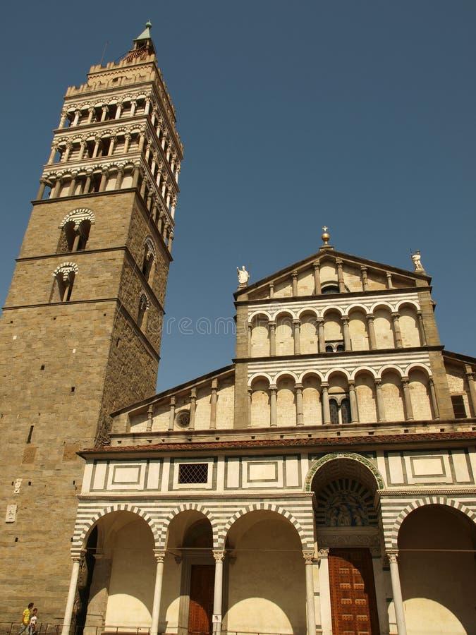 Pistoia - Duomo. Cathedral St Zeno's - Pistoia, Tuscany Italy stock photography