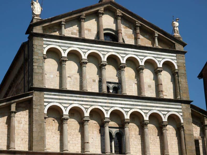 Pistoia - Duomo. Cathedral St Zeno's - Pistoia, Tuscany Italy royalty free stock photos