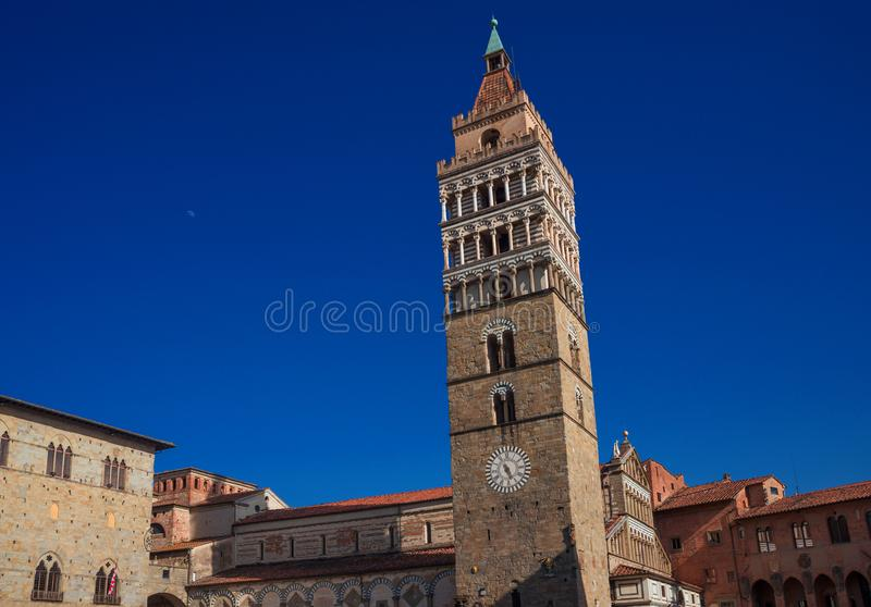 Pistoia Duomo Square royalty free stock images