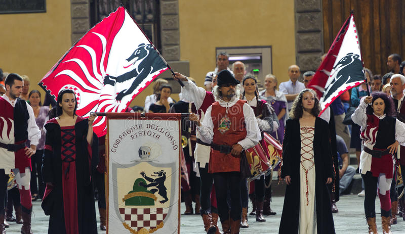 Pistoia, Medieval Parade Editorial Photography