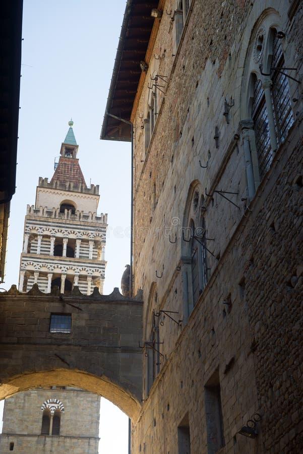 Pistoia (Tuscany, Italy) stock image. Image of arch ...