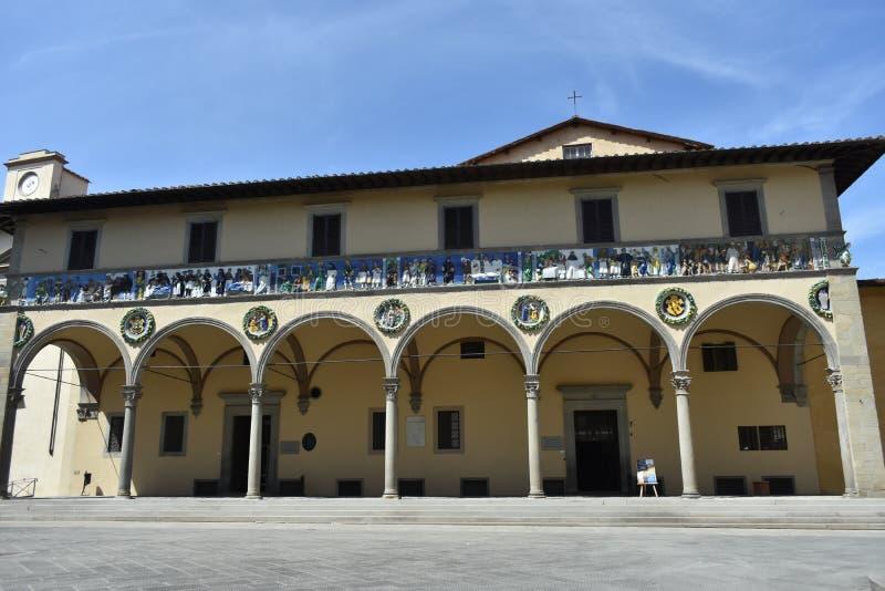 Pistoie, Toscane, Italie photographie stock libre de droits