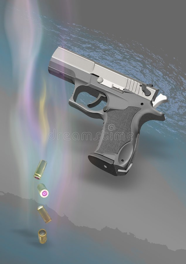 Pistol 01 royalty free stock photography
