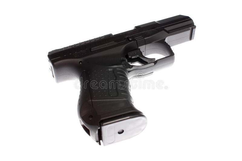 Download Pistol stock photo. Image of firearm, white, weapon, trigger - 11810072