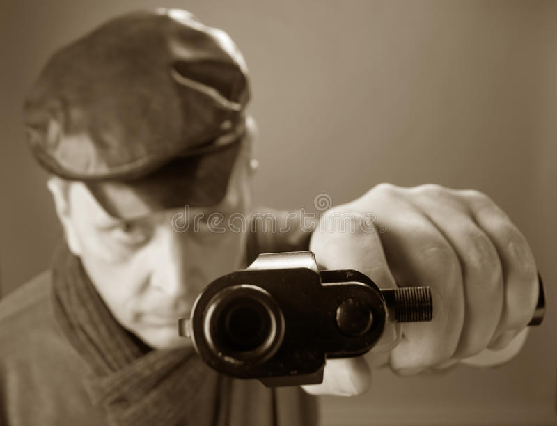 pistol fotografering för bildbyråer