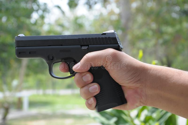 Download Pistol stock photo. Image of pistol, safety, shooting - 19408270