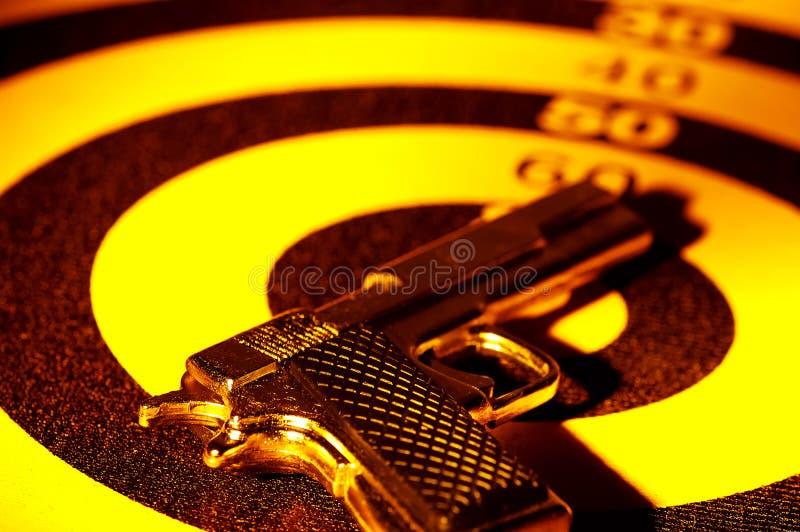 Download Pistol arkivfoto. Bild av område, skydd, mål, tryckspruta - 229620