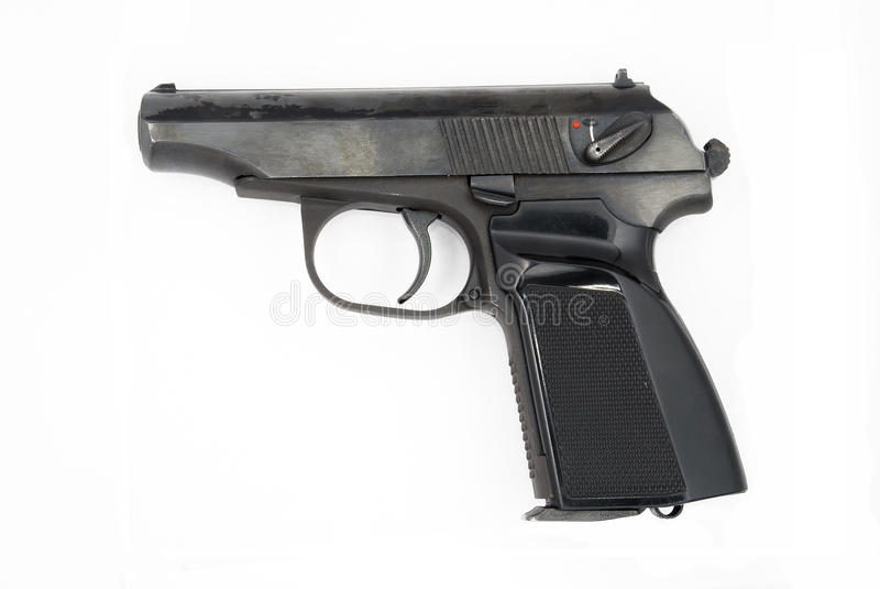Pistol 9mm Makarov royalty free stock image