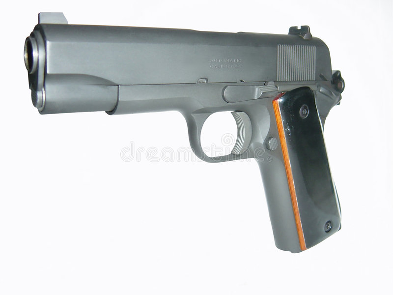 Pistol4 Automático Foto de archivo