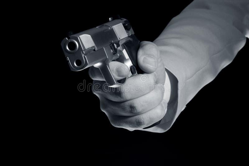 Pistola à disposicão fotos de stock royalty free