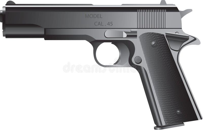 Pistola ilustração do vetor