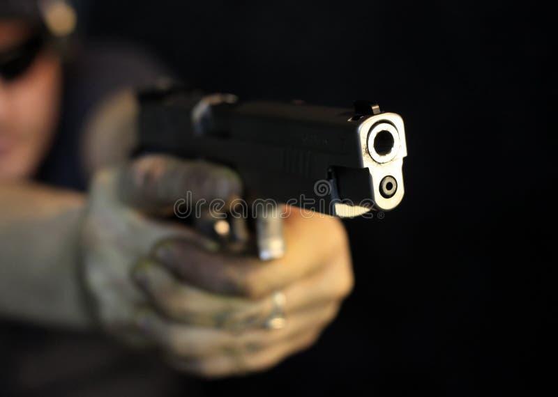 Pistola foto de archivo libre de regalías