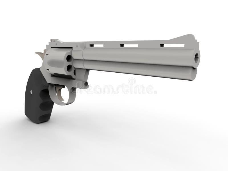 Pistola aislada ilustración del vector