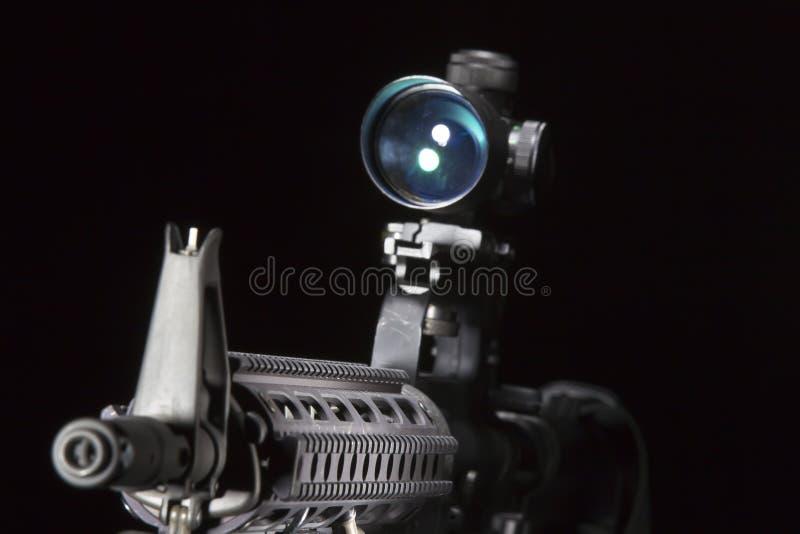 Pistola AR-15 fotografia stock
