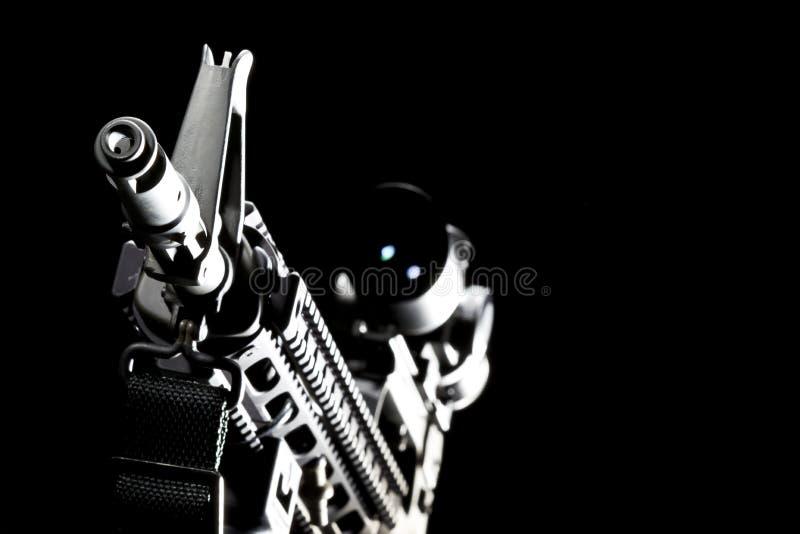 Pistola AR-15 immagini stock