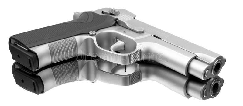 Pistola automática fotografía de archivo libre de regalías