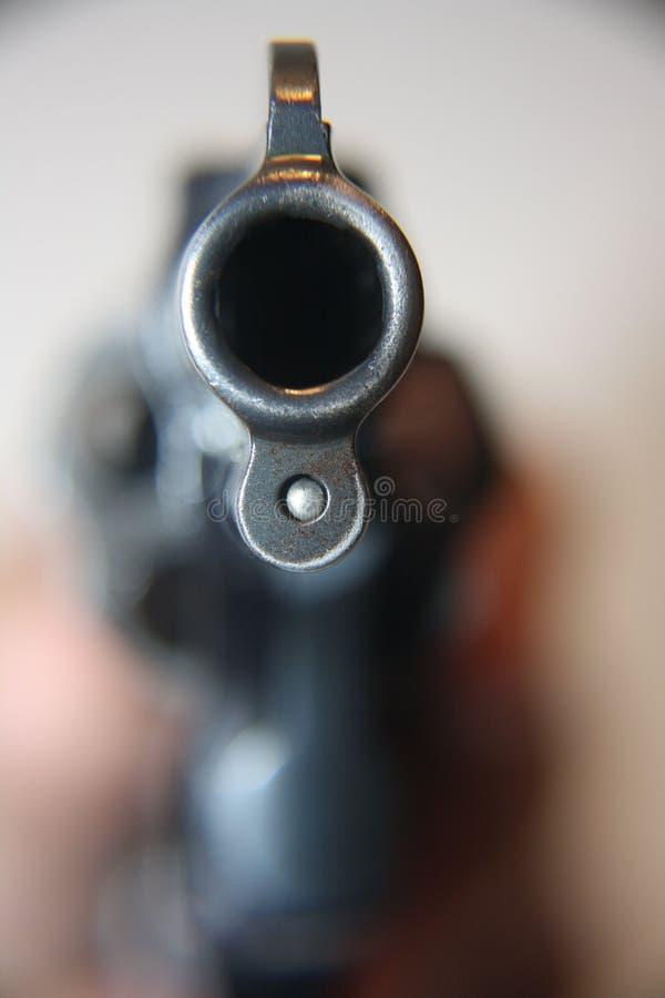 Pistola in bianco del punto fotografie stock libere da diritti