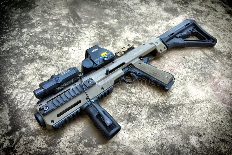 Pistola con il corredo di conversione immagini stock