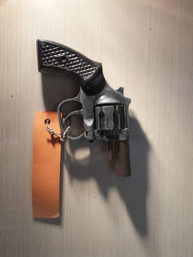 Pistola d'annata fotografia stock libera da diritti