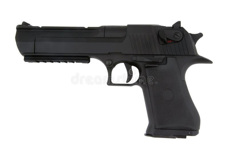 Pistola de Airsoft isolada imagem de stock