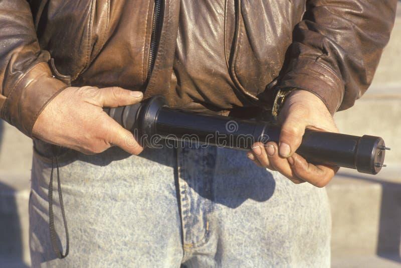 Pistola de aturdimiento, Los Ángeles, California foto de archivo libre de regalías