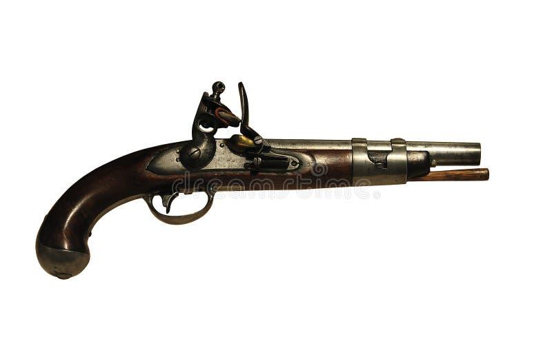Pistola de la vendimia fotografía de archivo libre de regalías