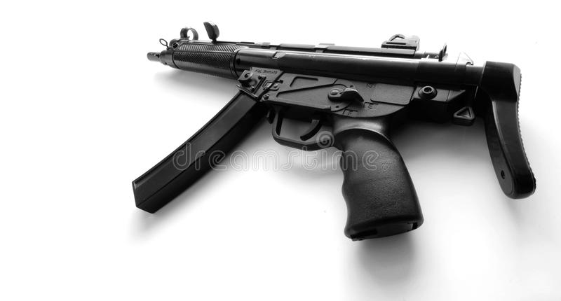 Pistola de máquina MP5A3 automática imagens de stock