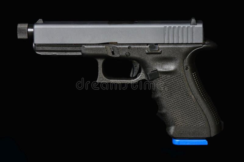 Pistola del acuerdo del fuego del huelguista foto de archivo libre de regalías