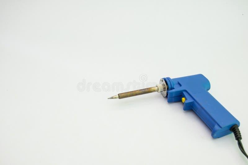 pistola del Saldare-ferro fotografia stock libera da diritti