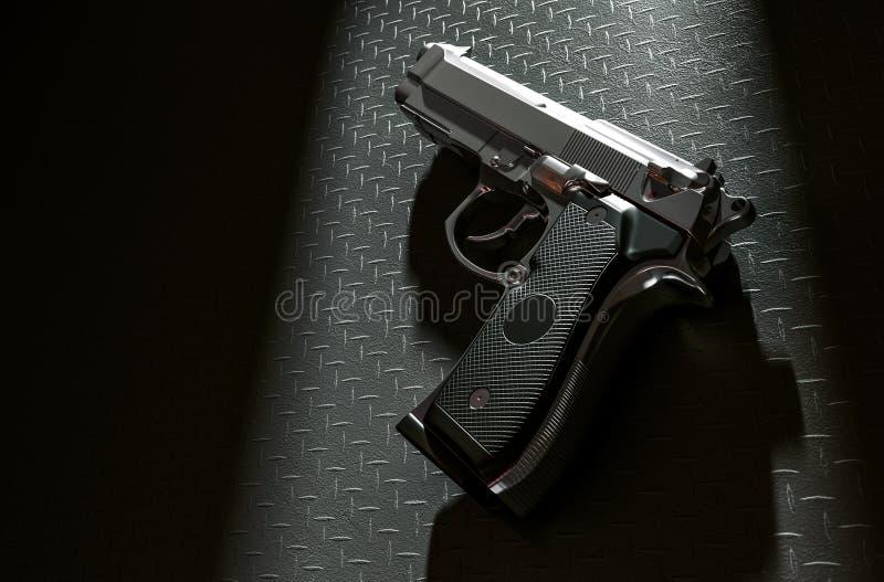 Pistola di goccia illustrazione di stock